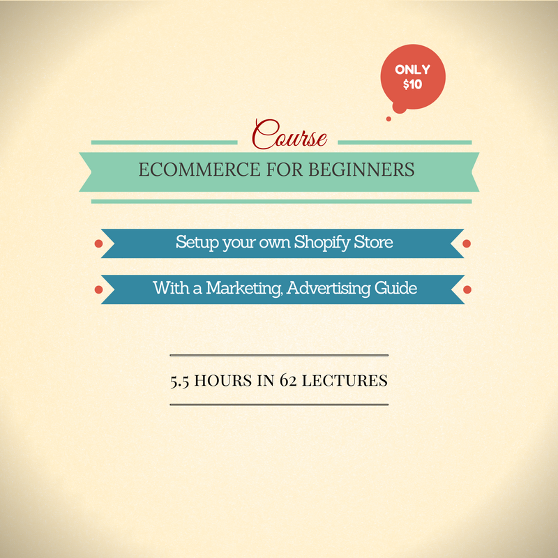 Video Course: Ecommerce for Beginners with Shopify