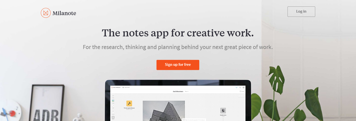note app research creative milanote