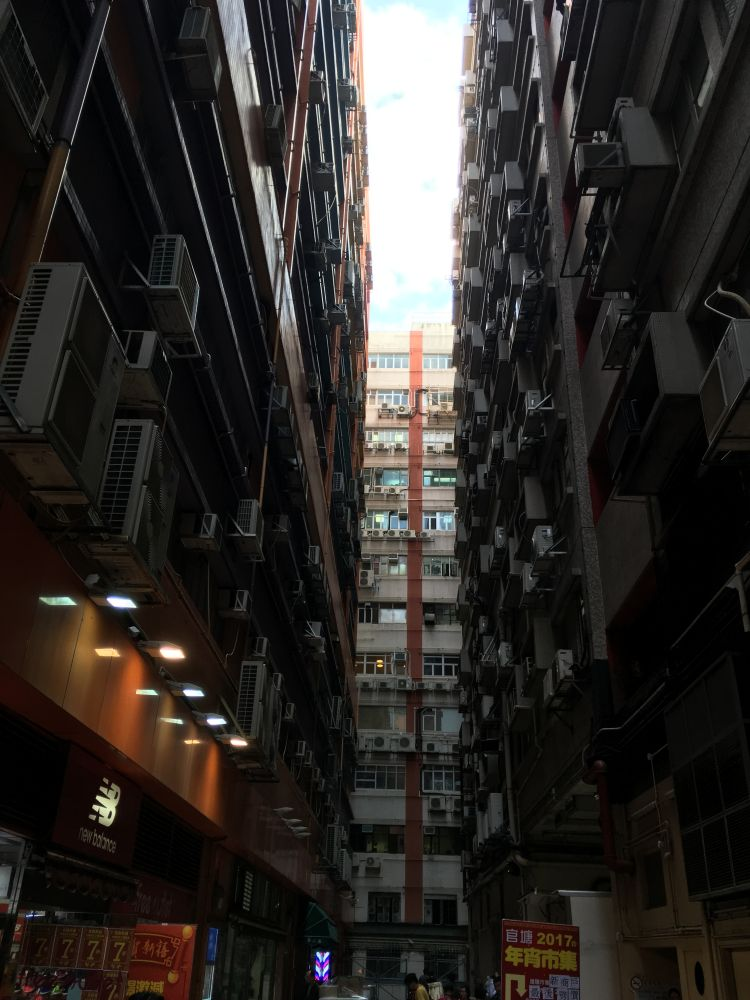 Narrow Houses Hong Kong