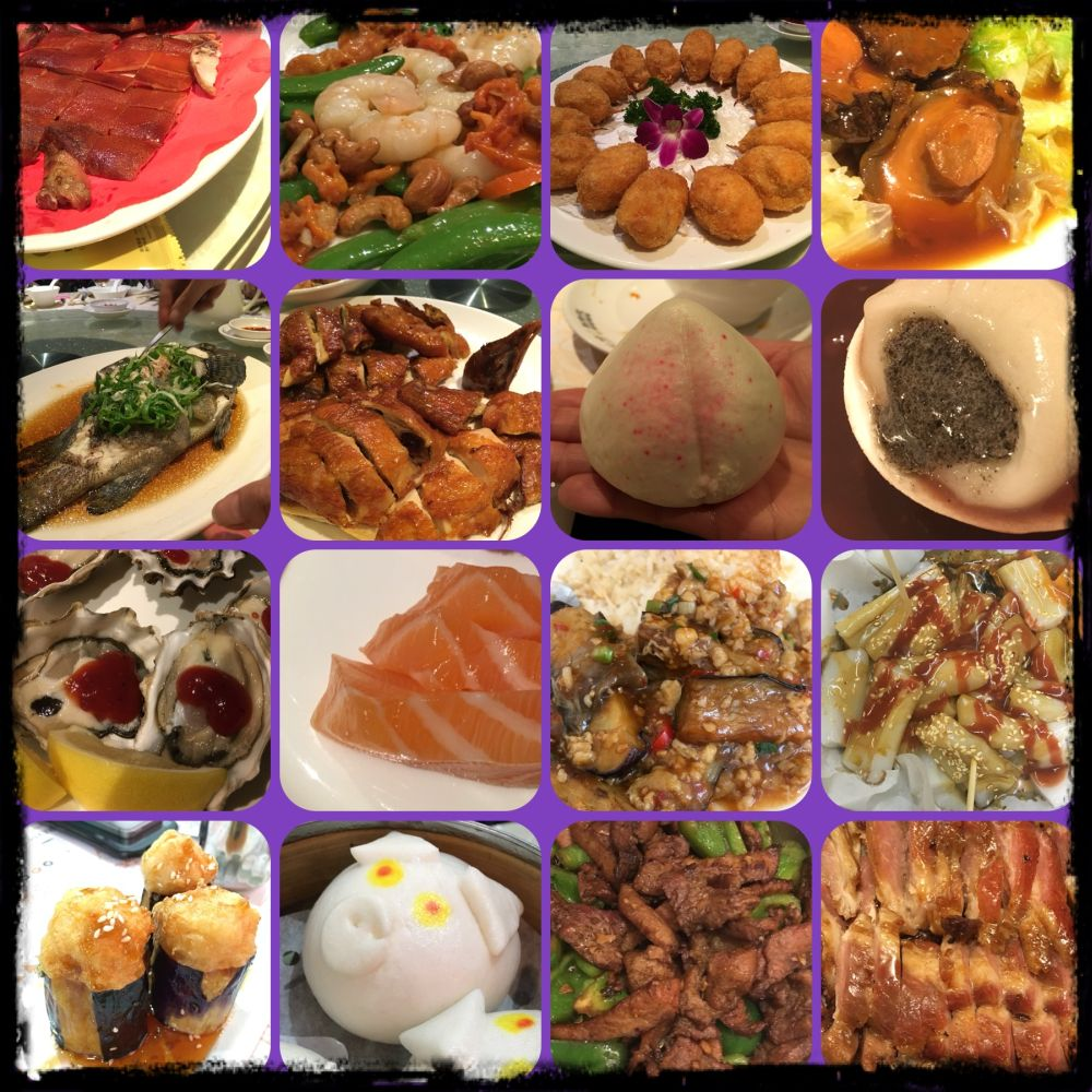 Different food in Hong Kong