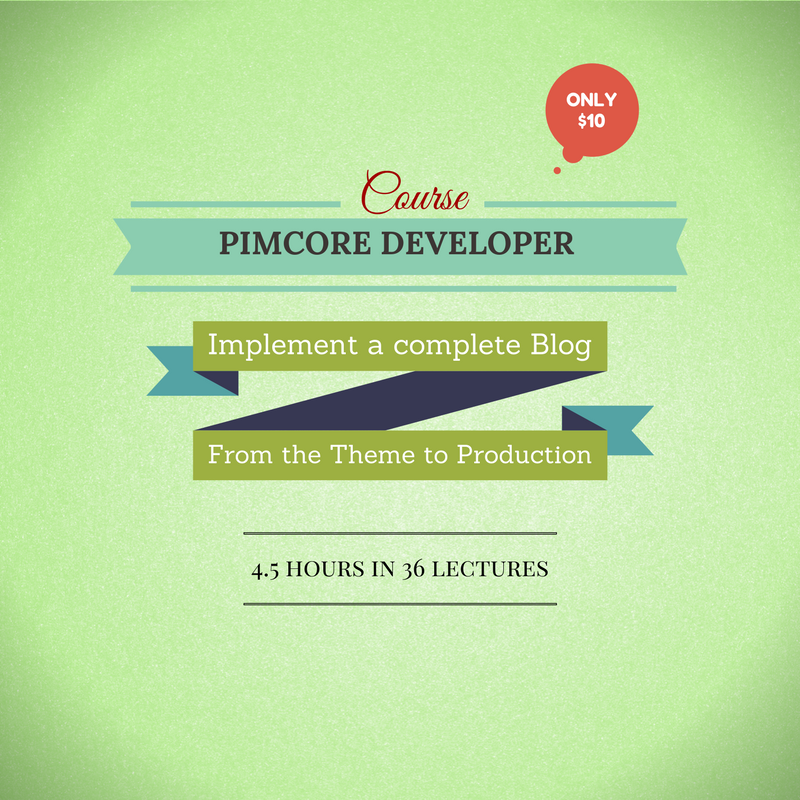 Video-Course: From HTML to a Blog with Pimcore