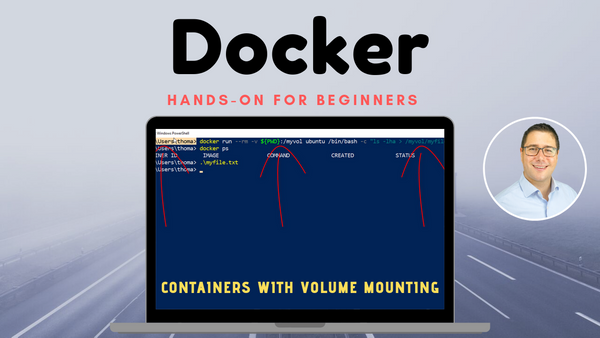 Host Directory Volume Mounting in Docker